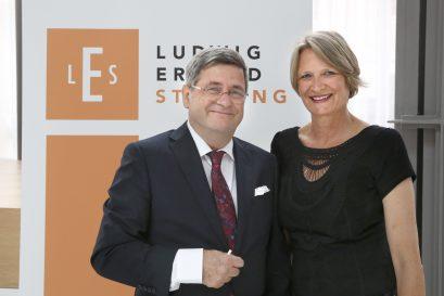 Roland Tichy, Vorsitzender der Ludwig-Erhard-Stiftung, mit Ehefrau Andrea Tichy