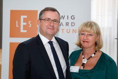 Preisträger Holger Steltzner mit Ehefrau Monique Steltzner
