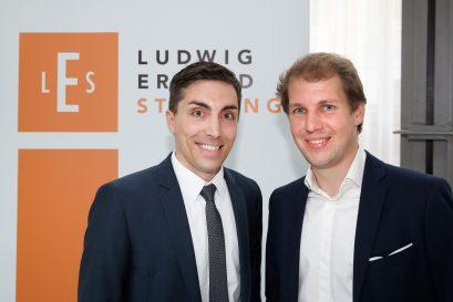 Förderpreisträger Massimo Bognanni und Simon Book