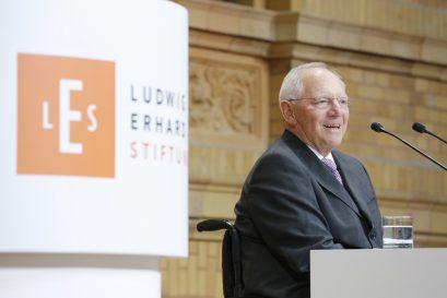 Festredner Dr. Wolfgang Schäuble, Bundesminister der Finanzen
