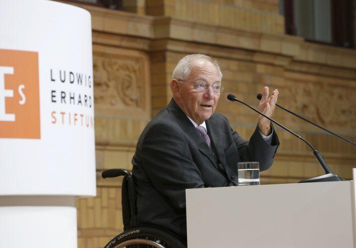 Festrede auf Gerhard Schröder und Holger Steltzner
