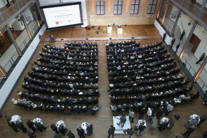 Preisverleihung in den Räumlichkeiten der Deutsche Telekom Hauptstadtrepräsentanz in Berlin