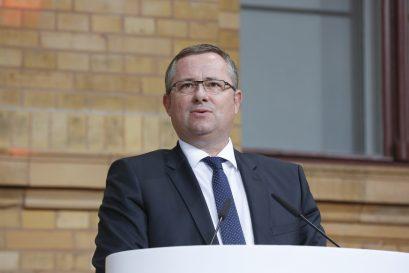 Preisträger Holger Steltzner, Herausgeber der Frankfurter Allgemeinen Zeitung