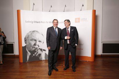 Gerhard Schröder und Roland Tichy