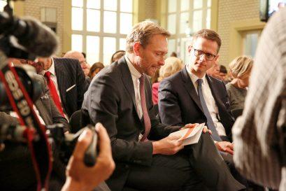 Christian Lindner MdB und Dr. Carsten Linnemann MdB