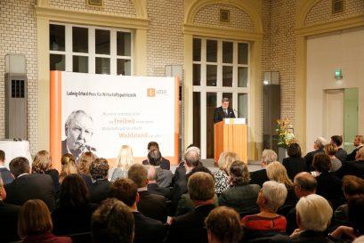Begrüßung Roland Tichy, Vorsitzender der Ludwig-Erhard-Stiftung