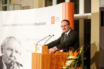 Prof. Dr. Lars P. Feld, Mitglied der Ludwig-Erhard-Stiftung