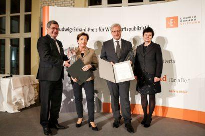 Roland Tichy, Prof. Dr. Renate Köcher, Dr. Marc Beise, Dr. Ursula Weidenfeld