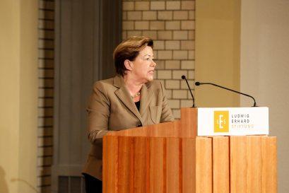 Prof. Dr. Renate Köcher, Geschäftsführerin des Instituts für Demoskopie Allensbach