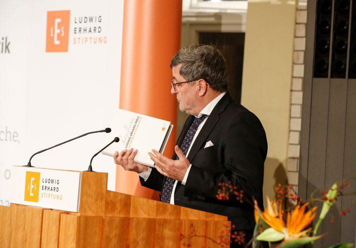 40 Jahre Ludwig-Erhard-Preis für Wirtschaftspublizistik
