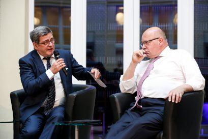 Bundesminister Peter Altmaier stellt sich den Fragen von Roland Tichy.
