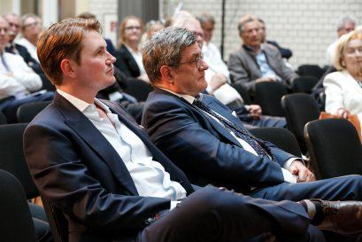 Thomas Falk, Unternehmer und Investor, und Roland Tichy, Vorsitzender der Ludwig-Erhard-Stiftung