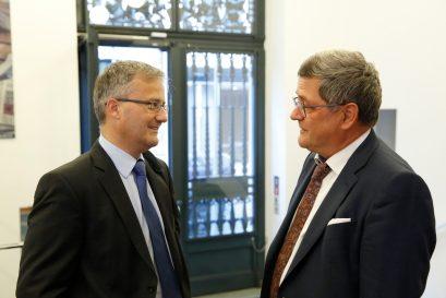Preisträger Dr. Peter Rásonyi und Roland Tichy