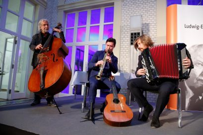 Trio Laccasax aus Berlin