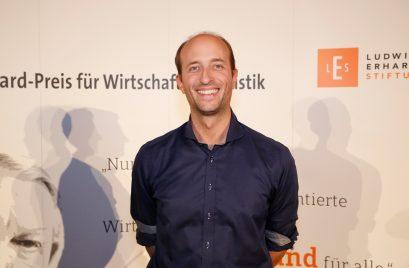 Förderpreisträger Patricius Mayer, Redakteur des Bayerischen Rundfunks