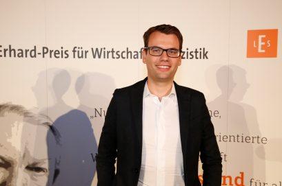 Förderpreisträger Christian Wermke, Redakteur des Handelsblatts