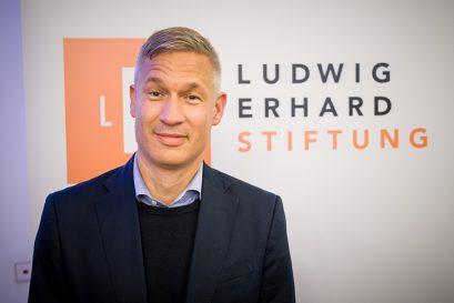 Dr. Ulf Poschardt, Träger des Ludwig-Erhard-Preises für Wirtschaftspublizistik 2019