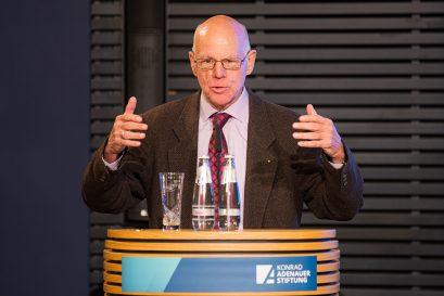 Dr. Norbert Lammert, Vorsitzender der Konrad-Adenauer-Stiftung