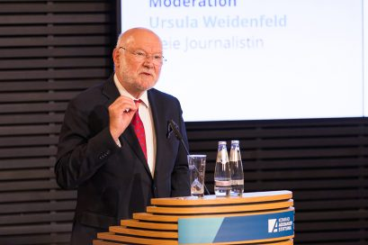 Prof. Dr. Joachim Starbatty, Mitglied der Ludwig-Erhard-Stiftung