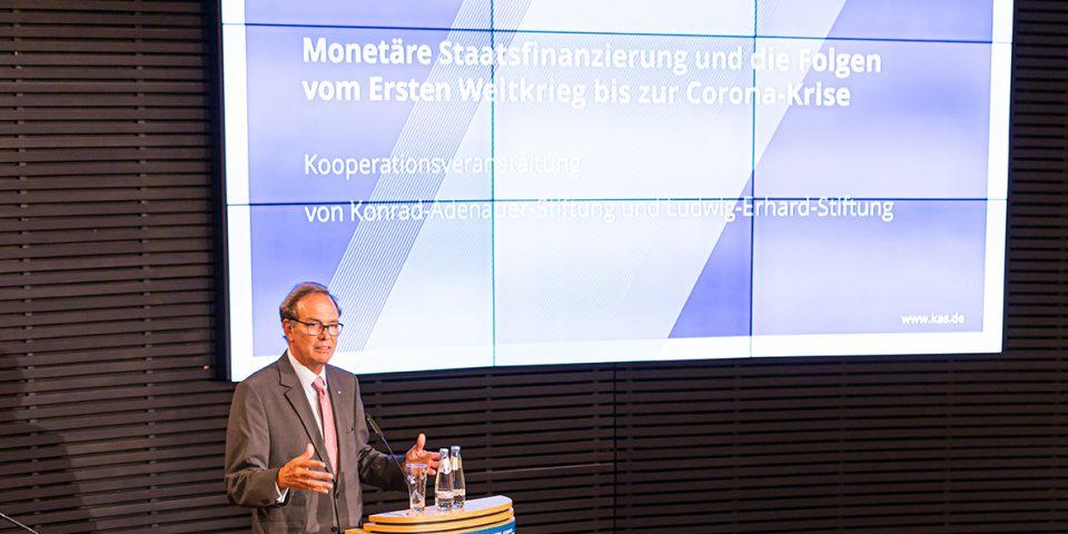 Monetäre Staatsfinanzierung