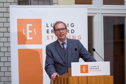 Prof. Dr. Ulrich Blum, stellvertretender Vorsitzender der Ludwig-Erhard-Stiftung