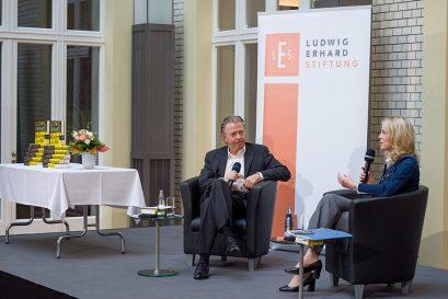 Daniel Goffart und Linda Teuteberg im Gespräch