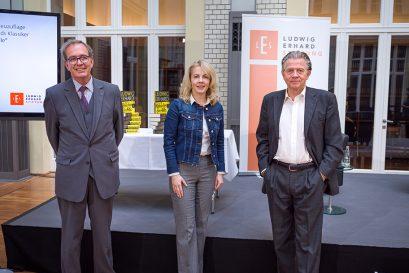Ulrich Blum, Linda Teuteberg und Daniel Goffart
