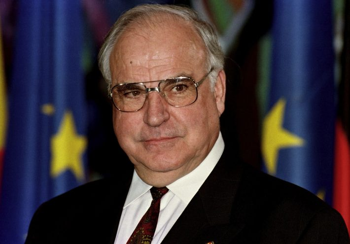 Helmut Kohl (* 3. April 1930, † 16. Juni 2017)