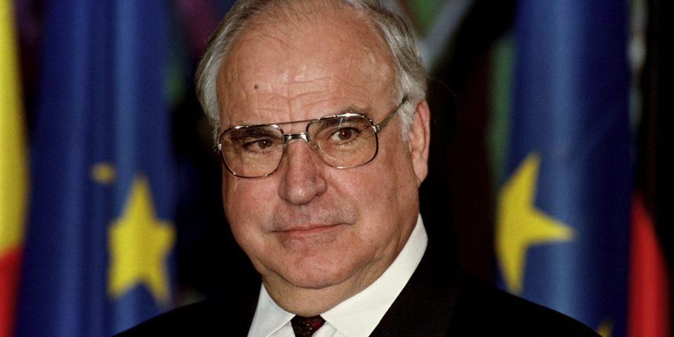 Helmut Kohl (* 3. April 1930, † 16. Juni 2017)