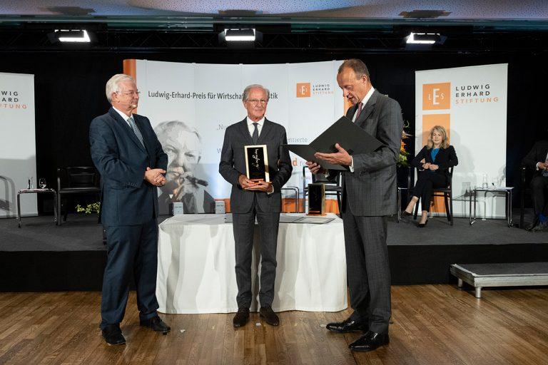 Roland Koch, Wolfgang Reitzle, Friedrich Merz