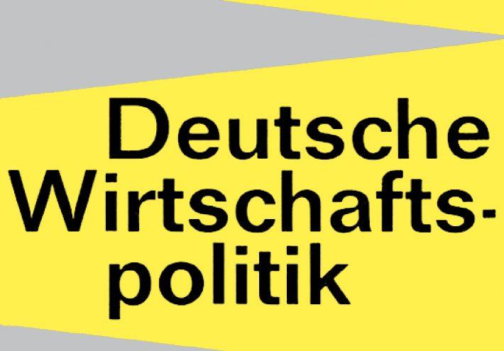 Die Prinzipien der deutschen Wirtschaftspolitik