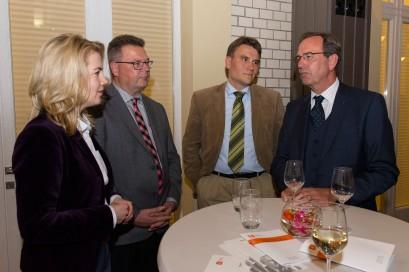 Linda Teuteberg, Prof. Dr. Ingo Pies, Prof. Dr. Nils Ole Oermann, Prof. Dr. Ulrich Blum