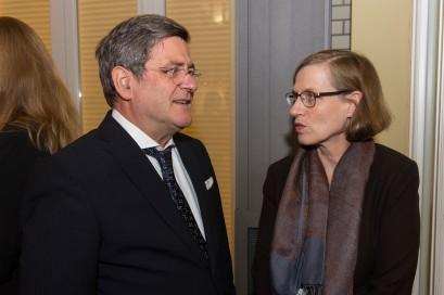 Roland Tichy und Heike Göbel