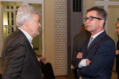 Ralf-Dieter Brunowsky und Dr. Rainer Hank