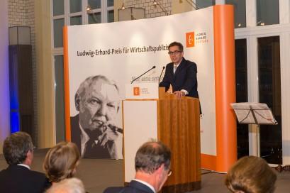 Laudationes von Dr. Rainer Hank, Mitglied der Jury des Ludwig-Erhard-Preises für Wirtschaftspublizistik