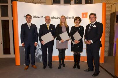 Dr. Rainer Hank, Claus Döring, Kathrin Werner, Dr. Nicola Leibinger-Kammüller, Roland Tichy