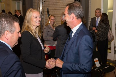 Kathrin Werner und Prof. Dr. Ulrich Blum