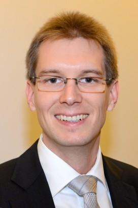 Förderpreisträger Patrick Bernau