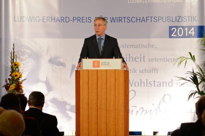 Wolfgang Clement bei seiner Ansprache