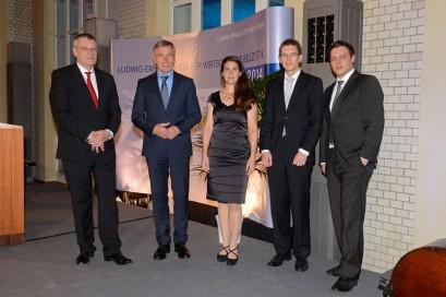 Prof. Dr. Werner Plumpe, Wolfgang Clement, Andrea Rexer, Patrick Bernau, Christian Salewski