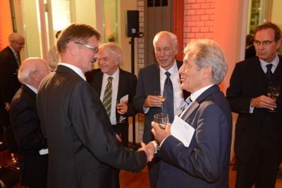Die Ludwig-Erhard-Stiftung bot den rund 200 Gästen ein offenes Forum zur Begegnung.