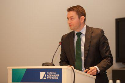 David Gregosz, Konrad-Adenauer-Stiftung