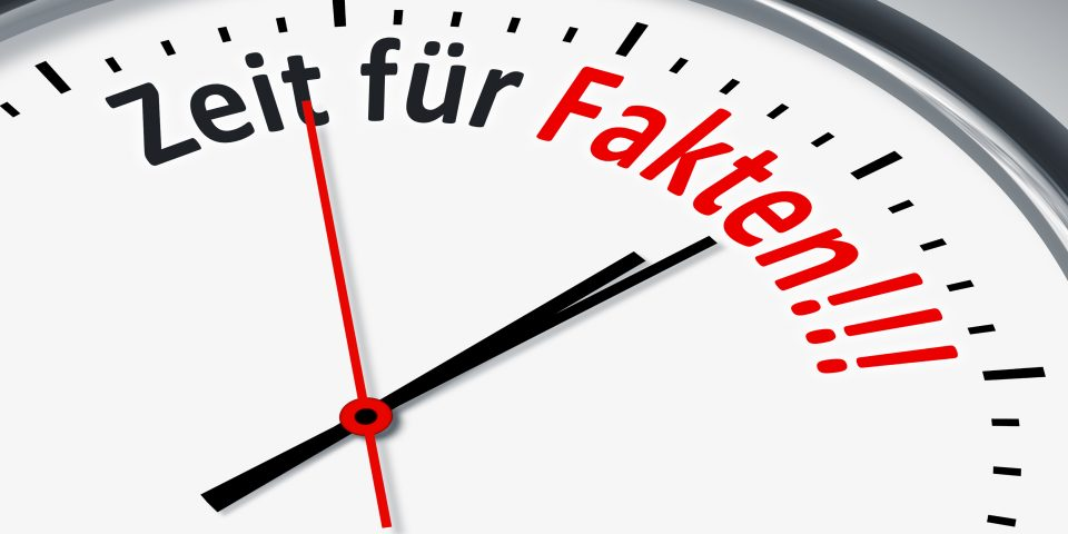 """Die """"fake news"""" des Martin Schulz"""