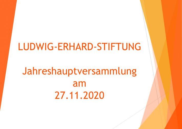 Neue Mitglieder im Vorstand der Ludwig-Erhard-Stiftung