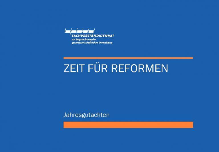 Reformen jetzt!