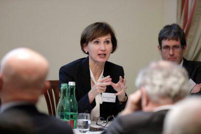Bettina Stark-Watzinger MdB, Vorsitzende des Finanzausschusses des Deutschen Bundestages