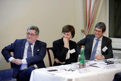 Roland Tichy, Bettina Stark-Watzinger MdB, René Höltschi