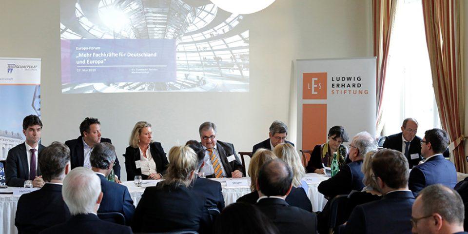 Mehr Fachkräfte für Deutschland und Europa