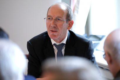 Prof. Dr. Hilmar Schneider, Direktor des IZA, zeigt bildungspolitische Maßnahmen auf.
