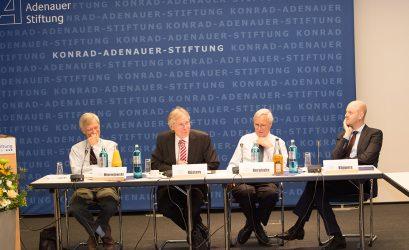 Prof. Dr. Alfred Mierzejewski, Prof. Dr. Hanns Jürgen Küsters, Prof. Dr. Volker Berghahn, Dr. Arnd Küppers